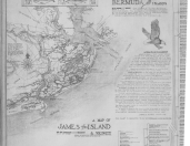 Map of James Island, SC, from JD Rivers Chart, Sheet 4
