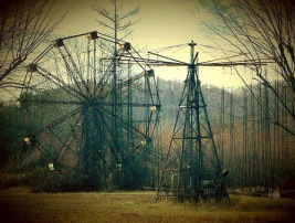 Abandoned Lake Shawnee Amusement Park