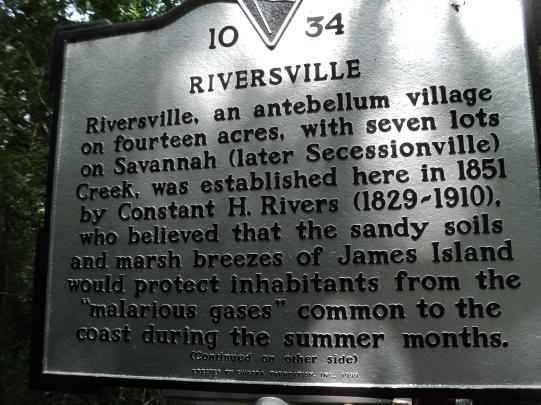 Riversville Historical Marker